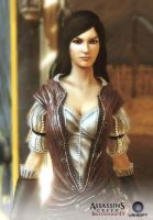 Assassin's Creed: Brotherhood - The Courtesan by CKYcrew