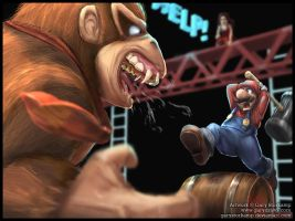 The King of Kong by GaryStorkamp