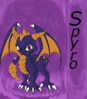 Sky Spyro by DragonGirlover101