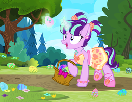 Easter Eggs and Fancy Dresses by PixelKitties