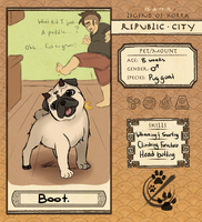 Republic City Pet App: Boot by ReverseAlchemist