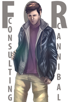 Cas in Gaddy clothes by L-a-m-o-N
