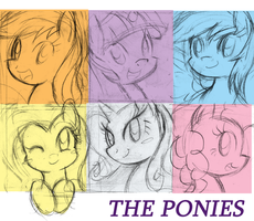 The Ponies by DANMAKUMAN
