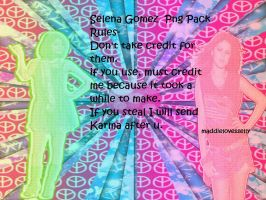 Selena Gomez Glitter Shadow Png Pack by MaddieLovesSelly
