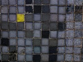 yellow square by awjay