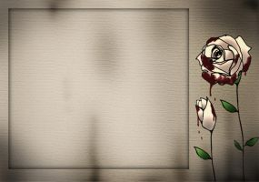 Lit. template - Bloody Roses by rockgem