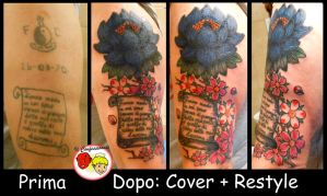 Cover Up Scroll 'n' flowers by ilconfessionale