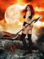 Of Red Skies and Dragons by RavenMoonDesigns