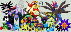 My Pokemon :) by TheDocRoach