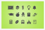 Back 2 School Vector 15 Icons Pack by webdesigngeek