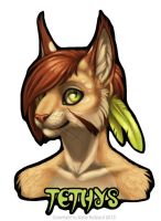 Tethys Digital Badge by Shadow-Wolf