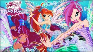 Winx Sirenix Power! by AlexaSpears1333