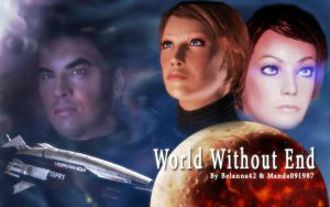 ME1: World Without End Cover Art by manda091987
