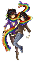 18. Rainbow: MagnusAlec by MMtheMayo