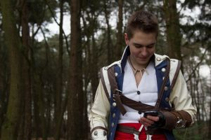 Connor Kenway Costume 13 by MitchTheChief
