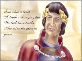 Pontius Pilate by Psee