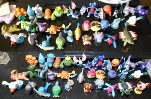 Completed Order (8) Pokemon Repaints by PleinairBunny