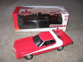 Starsky And Hutch toy car by RoyPrince