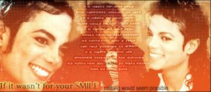 Your smile by mjjfan4life