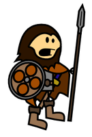 Viking-Paladin - Oots Style by Flutterella