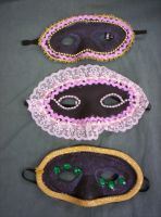 Romeo and Juliet Masks IV by Fruits-Punch-Samurai