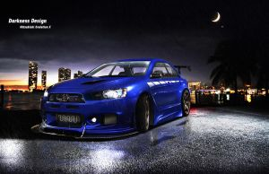 Darkness Design - Lancer Evo X by DarknessDesign