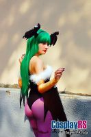 Morrigan Aensland ~ Cosplay by DeboraTeach