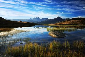 Guichard lake III : Tranquil Morning by MaximeCourty