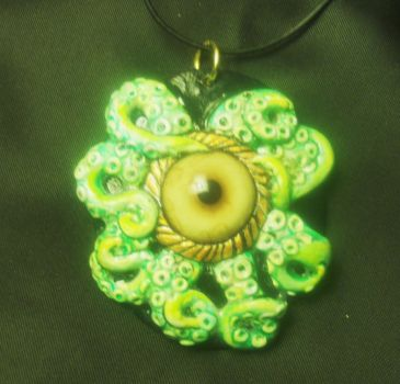 Tentacle Pendant by mistyscreations