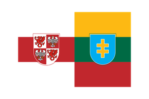 Mazovia-Lithuania Confederation flag by SoaringAven