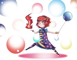 Clown Annie by HatterMadness
