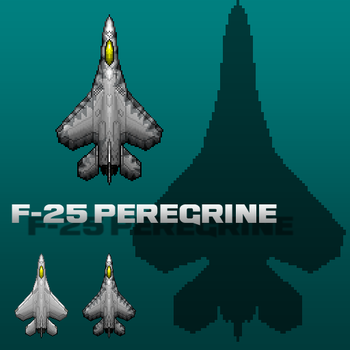 Peregrine Fighter Design by PrinzEugn