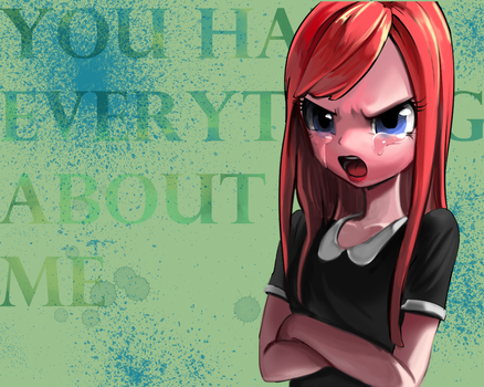 you ha** everyt***g about me by quizia