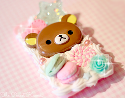 Pink and Mint Beary Sweets Decoden by ThePocketKawaii