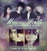 Missing Words - Poster by Zaphri