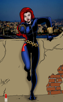 Black Widow by Joe-Singleton