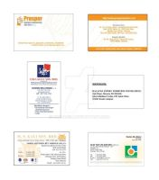 Bussiness Cards Designs 2 by dindaseh
