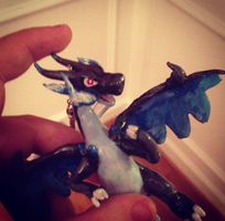 Mega Charizard X :For Sale or Trade: by AmethystCreatures
