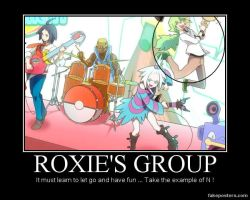 Demotival Poster : Roxie's group by JackFrost-LCDA