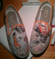 Portal Shoes by thetoaster
