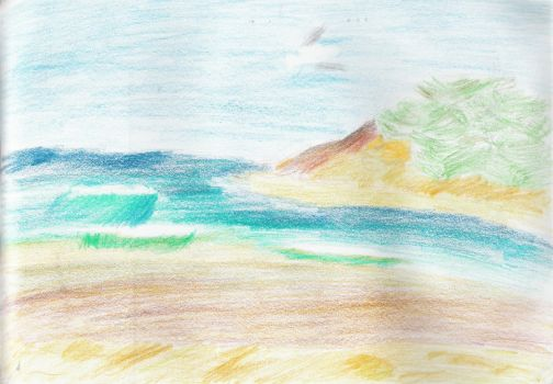 Beach by MoUsY-spell-checker