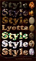 Design decorative stamped styles by Lyotta