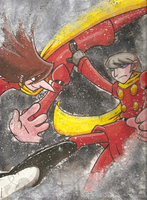 Cyborg 009 - Two By Four by Genolover