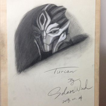 TURIAN_MASS EFFECT by SolarsWind