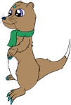 Nate, the Otter by DataPony