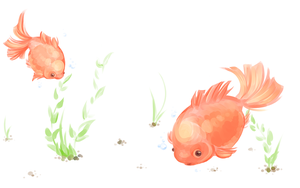 Goldfish by loveeANGEL