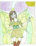 Laina - The Flower Fairy by ethereal-dancer