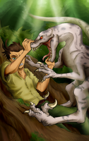 APH - Scuffling With Prehistoric Predators by Diamondsnake