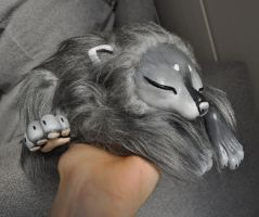 husky in my hand by LisaToms
