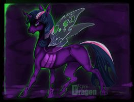 Changeling Twilight by Aspendragon